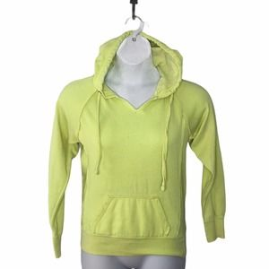 Ocean Dive Washed Out Neon Hooded Sweatshirt